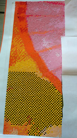 checkerboard system for diamond painting