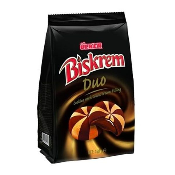 Biskrem Duo - Cookies with Cocoa Cream Filling
