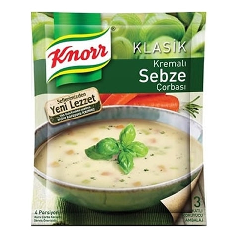 Knorr Vegetables Soup with Cream