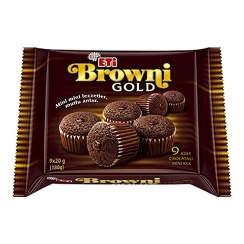 Eti Browni Mini Kek (9 adet)