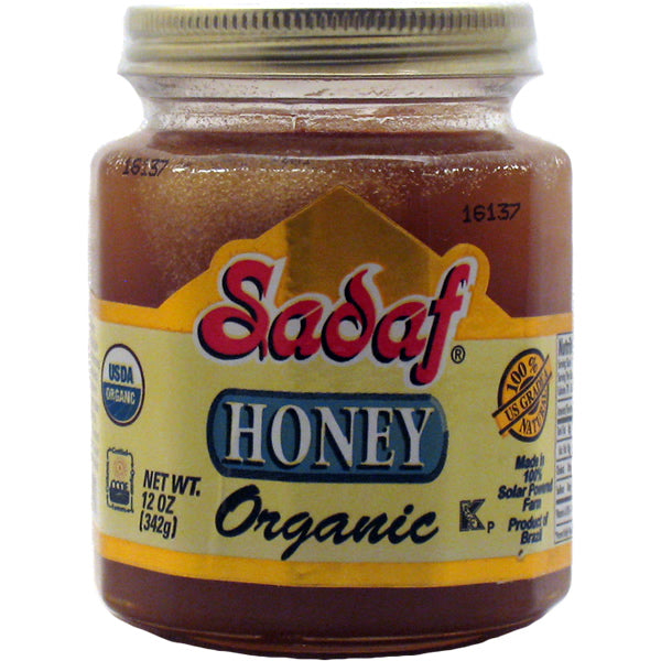 Sadaf honey organic 342g