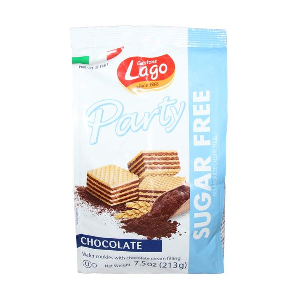 Party wafer chocolate sugar free 213g