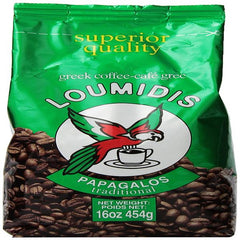 Loumidis papagalos greek coffee 16oz