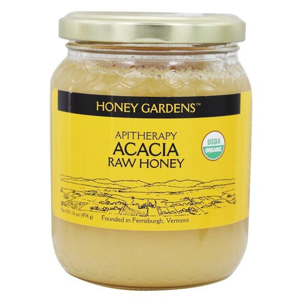 Acacia honey 5%royal jelly 16oz
