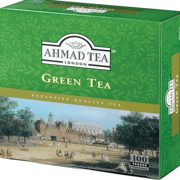 Ahmad Tea Green Tea 100tagged