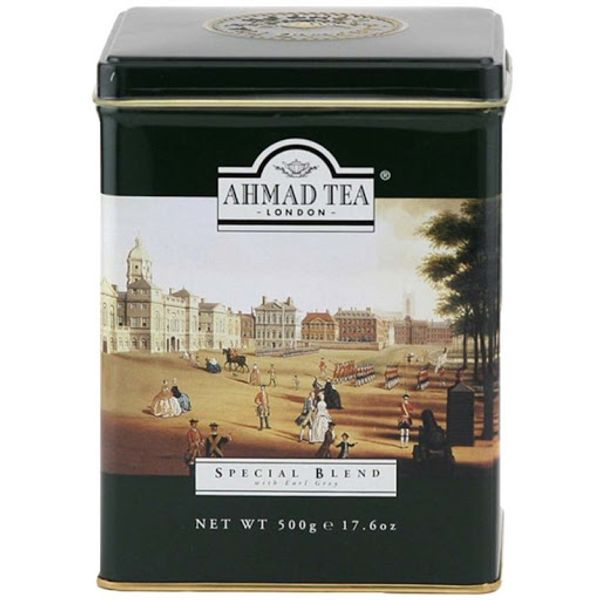 Ahmad special blend w. earl grey 500g can