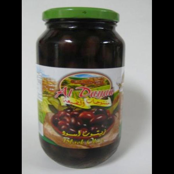 Al daya black olives 3000g