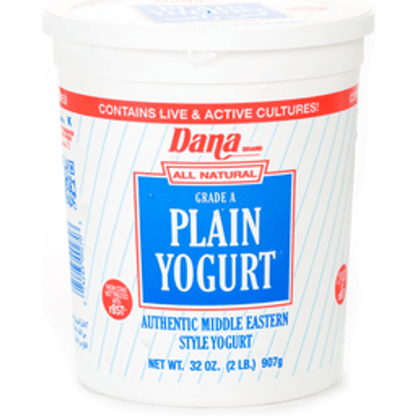 Dana plain yogurt 907g