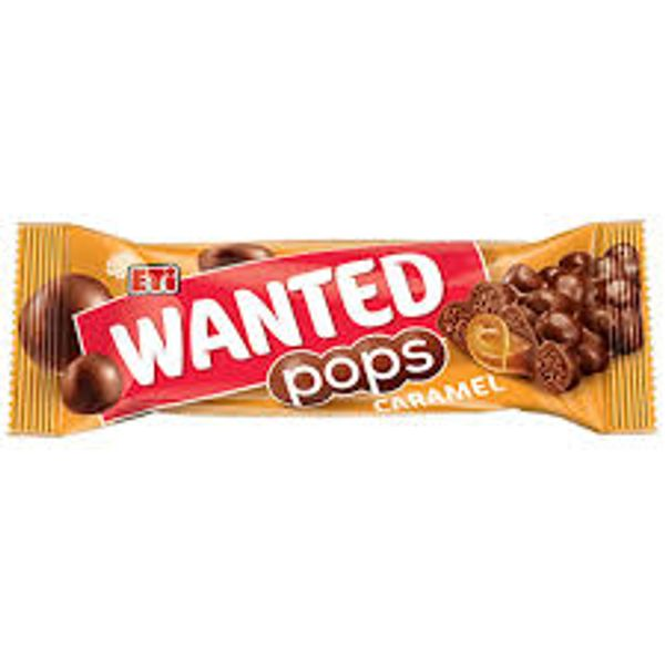 Eti wanted pops caramel 28g