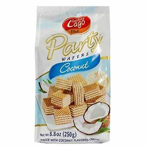 Lago party wafers coconut 250gr
