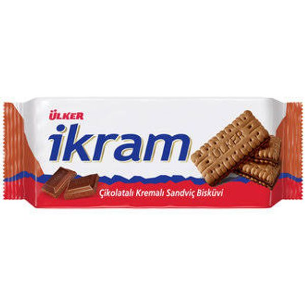 Ikram Cocoa Sandwich Biscuits with Cocoa Cream