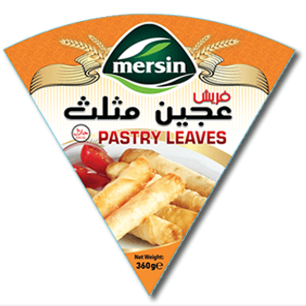 Mersin pastry leaves triangle 360gr