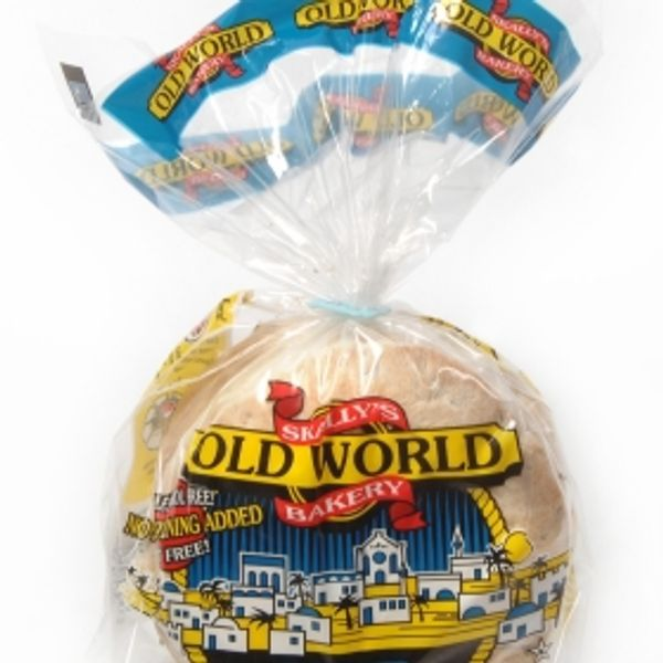 Old world bakery white pita 7 in