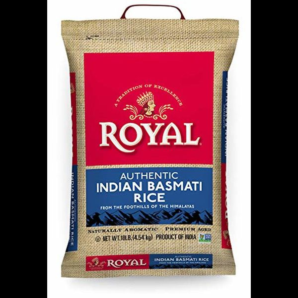 Royal Sella parboiled basmati rice 10lb