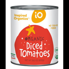 Inspired organic diced tomatoes 800g