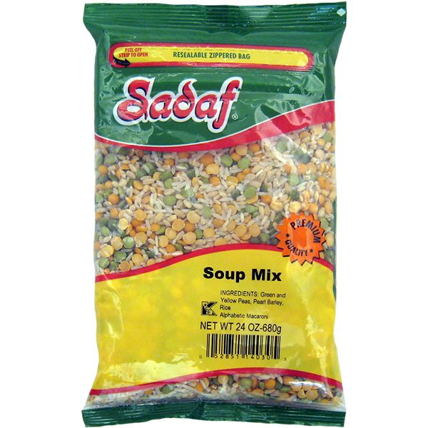 Sadaf vegi soup mix 680g