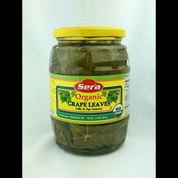 Sera organic grape leaves
