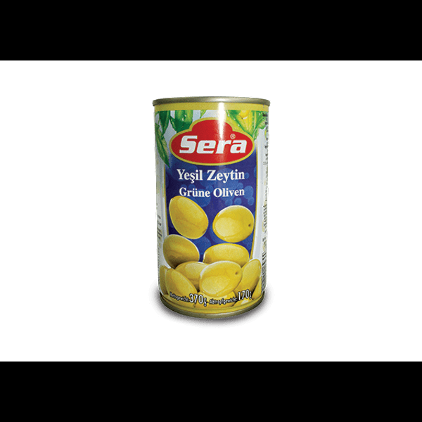 Sera pitted green olives 360g