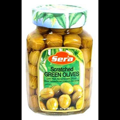 Sera scratched Green olives 400g