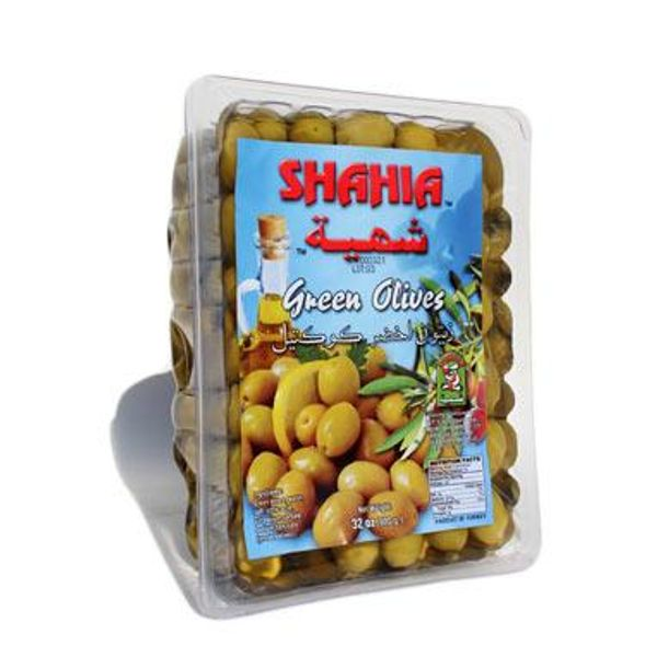 Shahia green olives 900g
