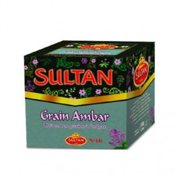 Sultan green tea oregano 150g