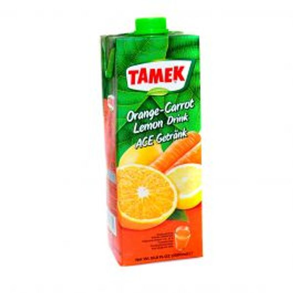 Tamek orange carrot drink 1lt