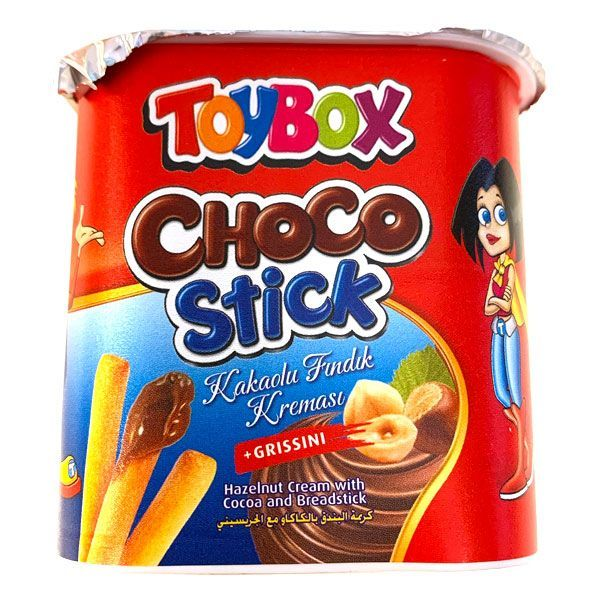 Toy box choco stick