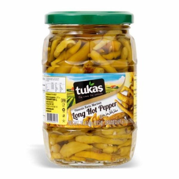 Tukas long hot peppers 680