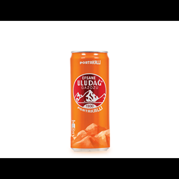 Uludag orange gazoz 330ml