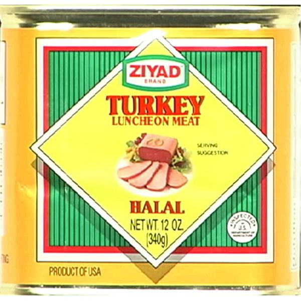 Ziyad:Turkey Luncheon Meat 12oz can