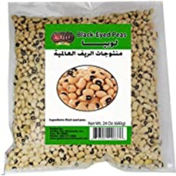 Alreef black eyed peas 24oz