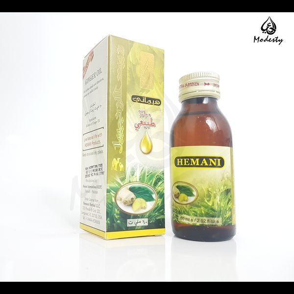 Hemani ginger oil 60ml