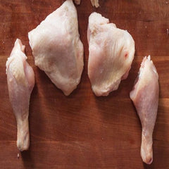 Fresh Chicken leg quarter cut pcs lb