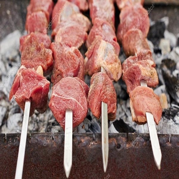 Fresh Lamb Shish Kebab/ 9.99 per Ib