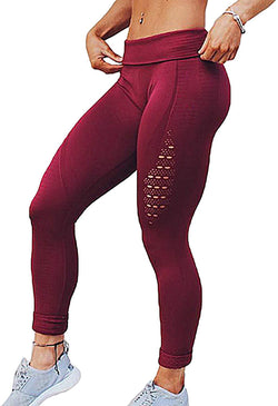Women's High Waist Workout Vital Seamless Leggings Butt Lift Athletic Workout Tights Stretch Pants 1