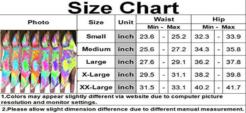 x-nian Womens Sexy Tie Dye Printed Dresses Spaghetti Strip Backless Deep V Neck Summer Bodycon Club Dress for Party