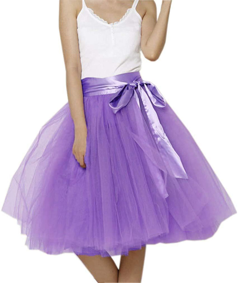 EllieHouse Womens Short Tutu Tulle Skirt with Sash PC06 1 2