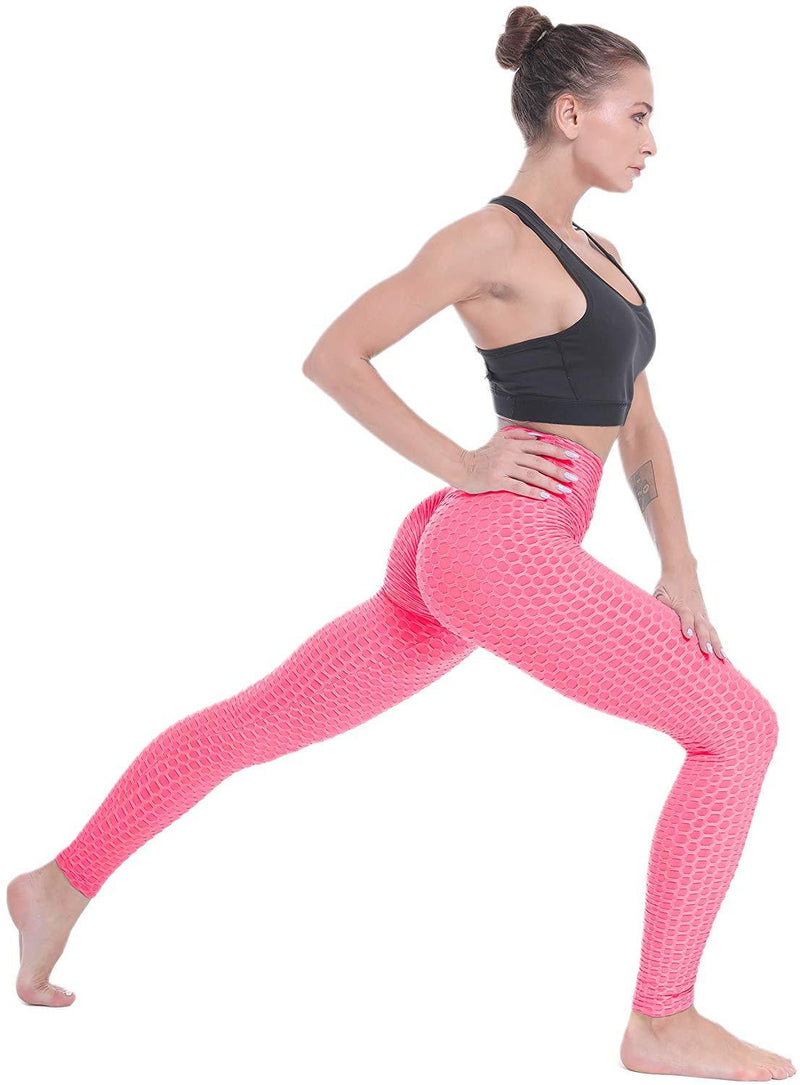 BEELU FASHION BOUTIQUE Women Scrunch Butt Lifting Yoga Pant Leggings High Waist Workout Sport Fitness Gym Tights Push Up