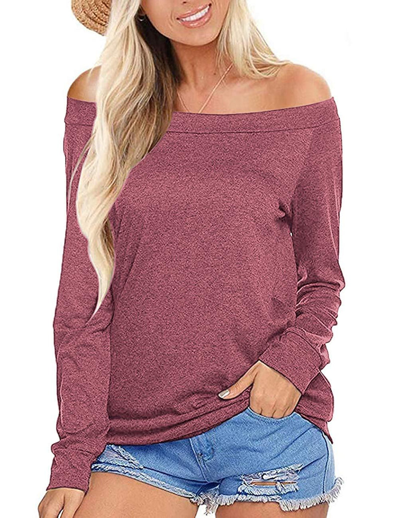 NIASHOT Women's Short Sleeve V-Neck Loose Casual Tee T-Shirt Tops 1