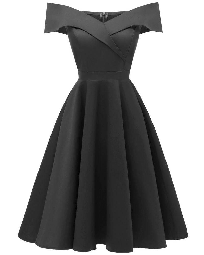 Jasambac Women S Off Shoulder High Low A Line Wedding Guest Party Cock Bettycollectionsboutique