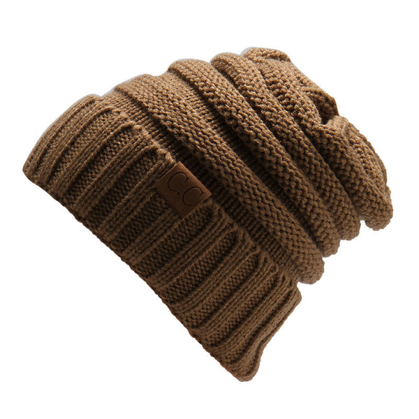 Warm Chunky Soft Stretch Cable Knit Beanie Skully