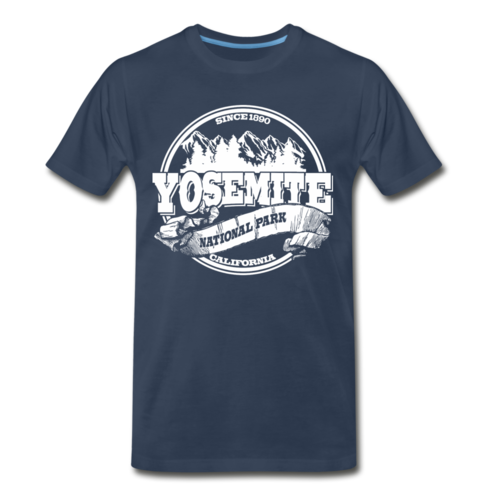 Men's Yosemite National Park Shirt California Wanderlust Camping Trip