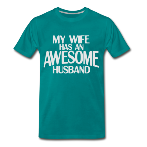 Anniversary Gift Husband Shirt My Wife Has An AWESOME Husband T shirt