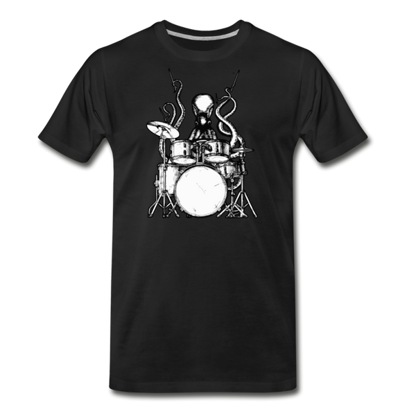 Octopus Playing Drums Men's T-Shirt Drummer Shirt Octopus Gift