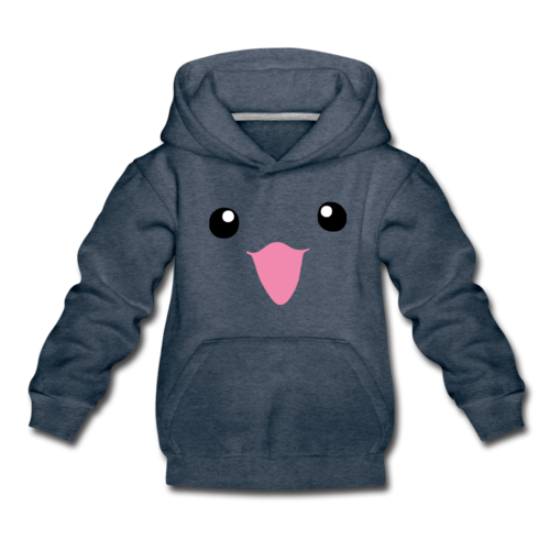 Kids' Cute Laughing face Premium Hoodie