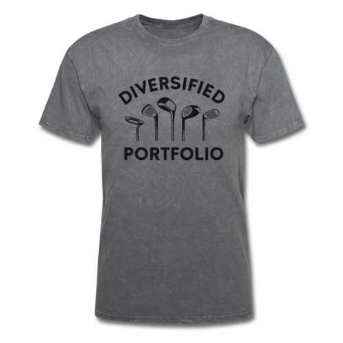 Mens Diversified Portfolio Golf Crusher Tee Shirt