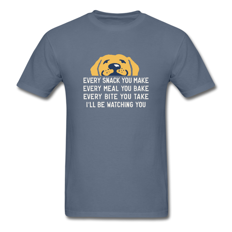 Mens Ill Be Watching You Crusher Tee Shirt