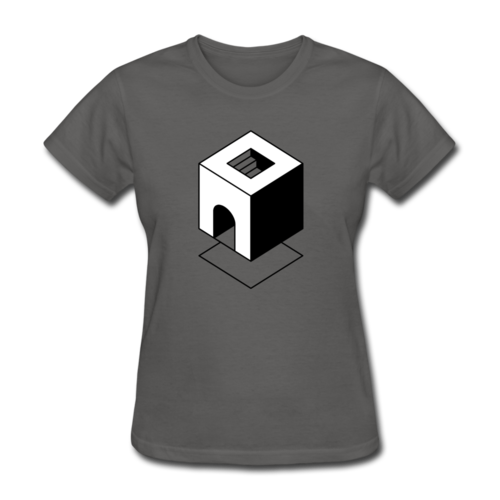 Minimal Geometric Abstract T-shirt Women's Graphic Tee