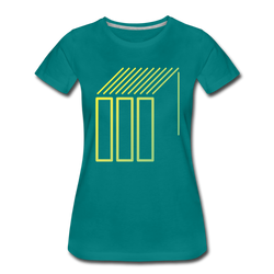 Geometric Shapes and Lines T-shirt Women's Premium Tee
