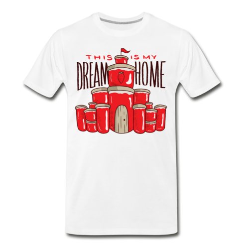 Jam Dream Home T-shirt Men's Premium Funny Graphic Tee